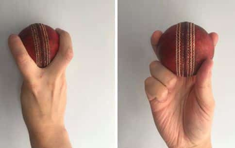 Split Finger Slower ball grip