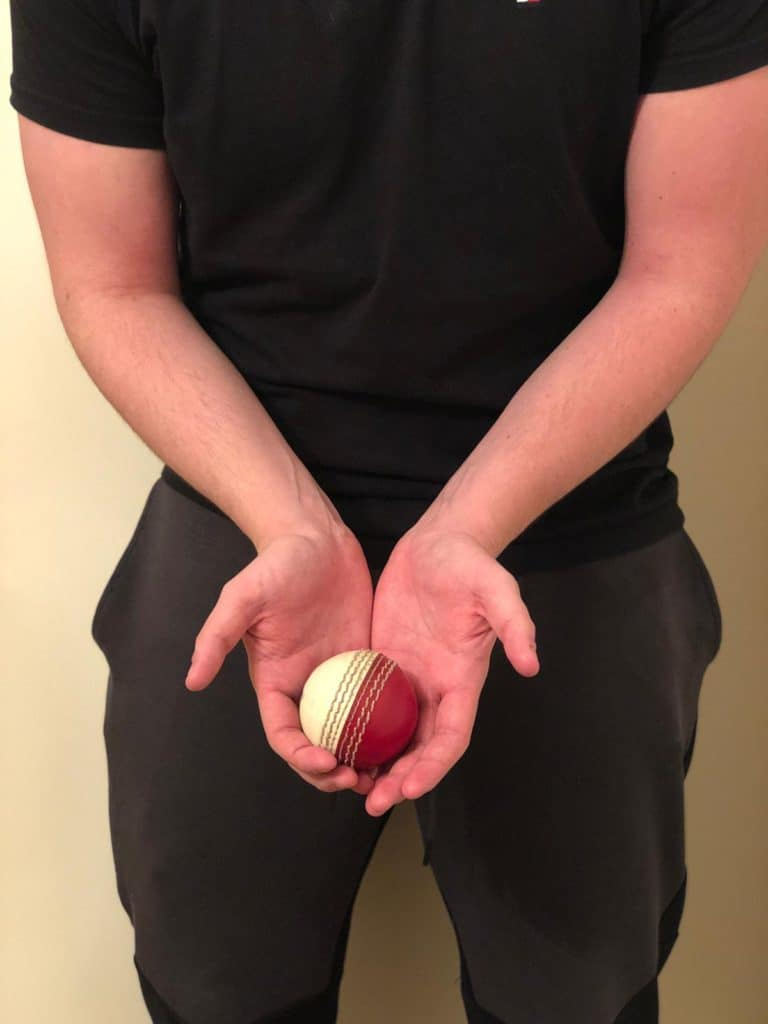 Orthodox cup method of catching