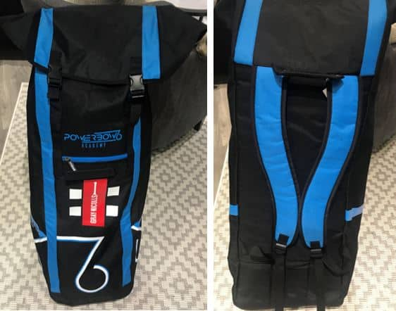 A Full View Of The Gray-Nicolls Powerbow 6 Academy Duffle Bag