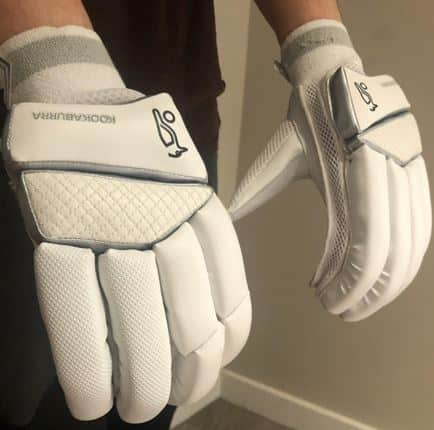 Photo Showing Protective Sections On These Gloves