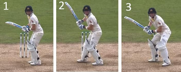 Steve Smith Batting Stance & Trigger Move