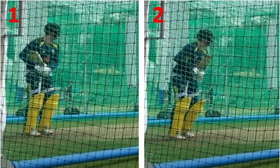 Steve Smith's Trigger Movement - Side On View